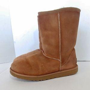 UGG Australia classic suede short boot